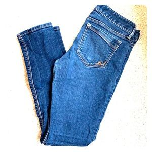 Express ankle skinny jeans